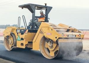 Maskinstyring for asfaltvals Topcon C53 Caterpillar