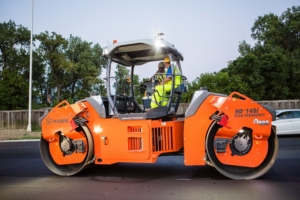Maskinstyring for asfaltvals Topcon C53 Hamm