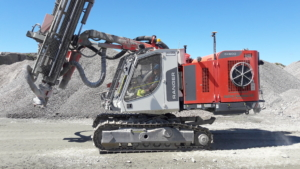 Topcon D53 borerigg maskinstyring Sandvik