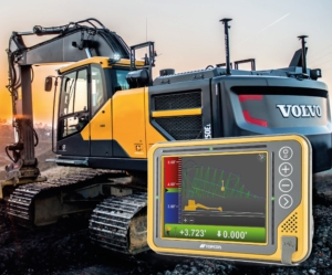 Topcon X73i GPS maskinstyring