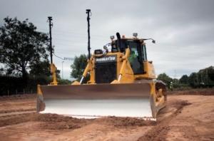Topcon bulldozer 3DMC GPS indicate