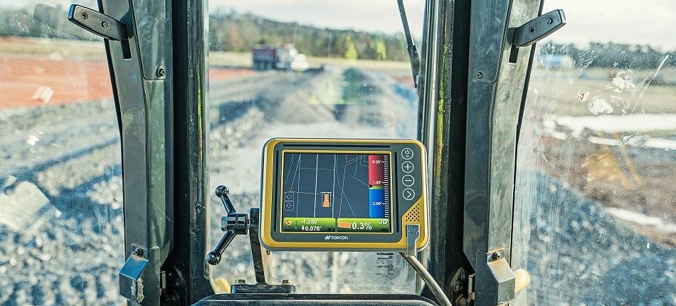 Topcon 3D-MCMAX maskinstyring bulldozer Komatsu-51px lite
