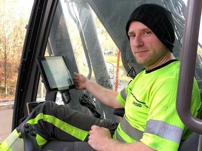 Topcon maskinstyring Repstad Dig Assist Espen Kjaer 400x300